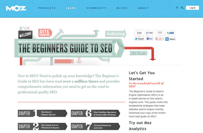 Useful Resource: Beginners guide to SEO from MOZ - Oxford Web Design | Hexagon Webworks